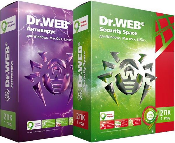 Dr.Web Security Space & Anti-Virus 10