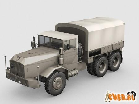 3d модели faun army truck 3dsmax model