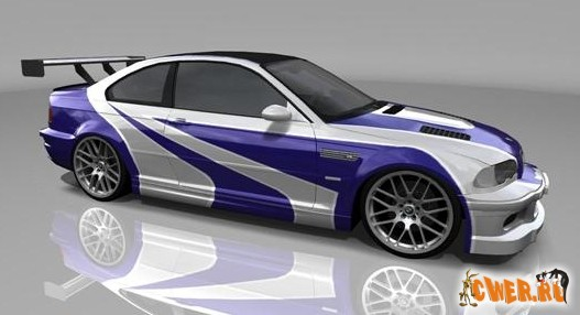 BMW M3 GTR (NFS: Most Wanted) 3D Model
