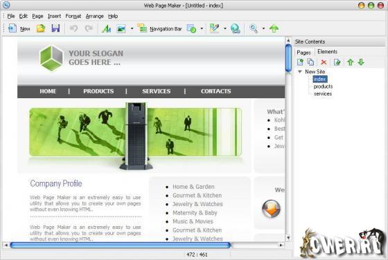 Создание сайтов web page maker как сделать подписную базу на сайте dle