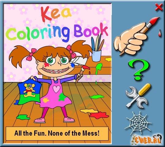 Kea Coloring Book 3 6 Download : Kea coloring book