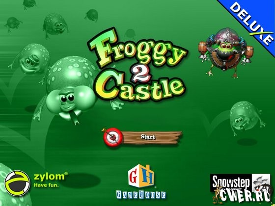 скриншот игры Froggy Castle 2 Deluxe
