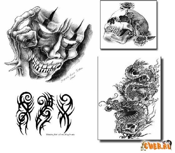 Разнообразных тату картинок