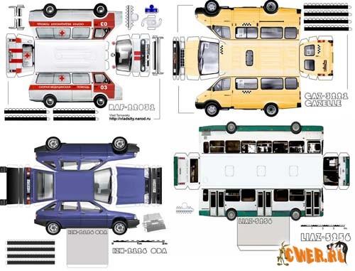 Модели автомобилей получаются
