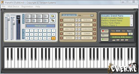 Портативный софт portable pianofx studio 4 0