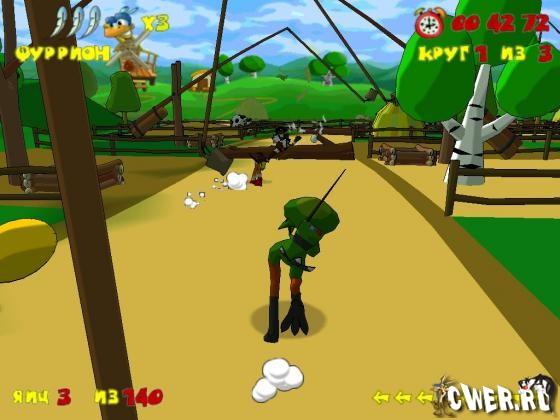 Скачать игру Страусиные бега (86,10 МБ). информации для