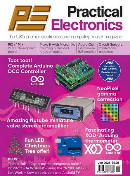 Everyday Practical Electronics №1 January январь 2021