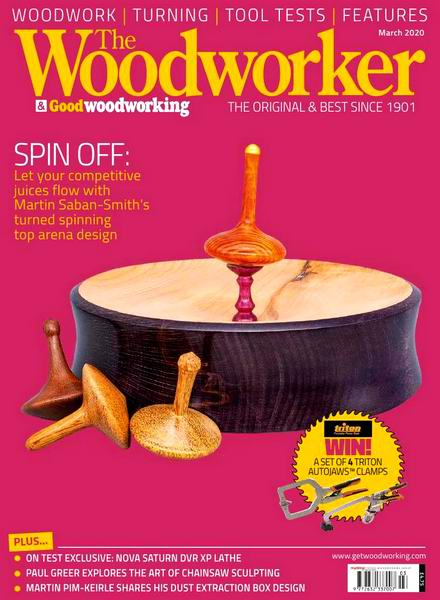 The Woodworker & Good Woodworking №3 March март 2020