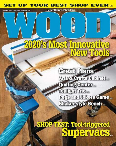 Wood Magazine №265 December 2019 January 2020