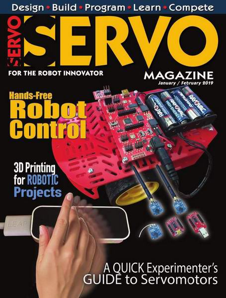 Servo Magazine №1-2 January-February 2019 январь-февраль 2019