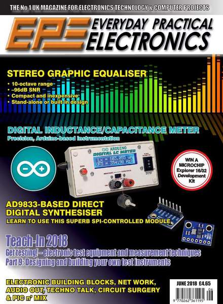 Everyday Practical Electronics №6 June июнь 2018