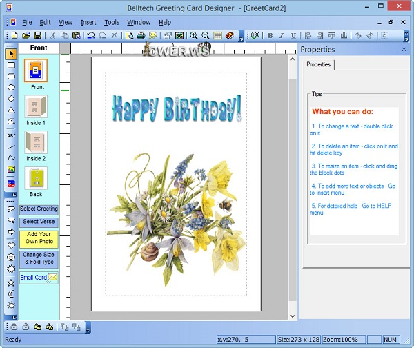 Belltech Greeting Card Designer 5.5.0