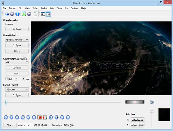 Avidemux 2.6.8.2