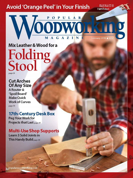 Popular Woodworking №237 February февраль 2018