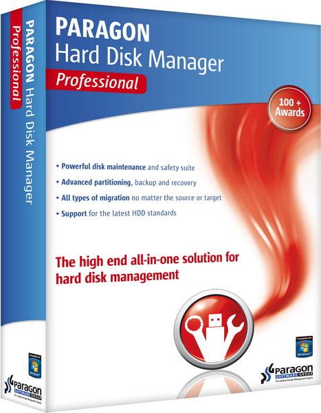 Paragon Hard Disk Manager 14 Professional