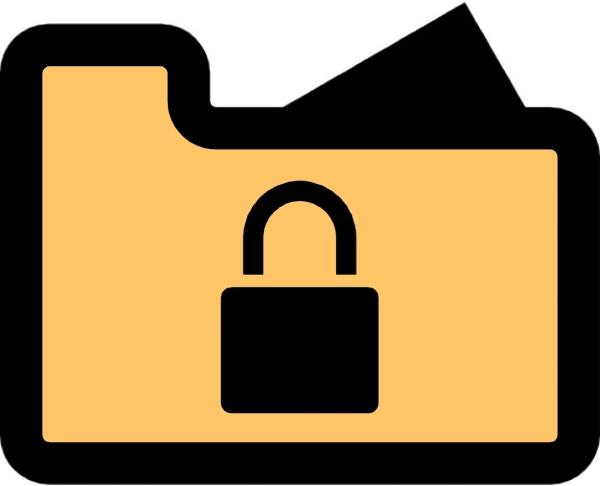 how to put a lock on a folder windows 10