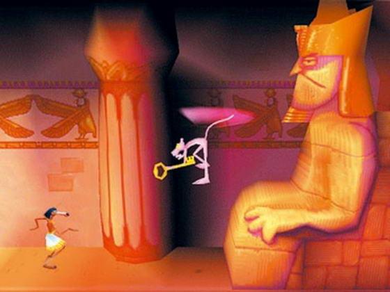 Прохождение игры Pink Panther - Pinkadelic Pursuit [PS1 ...