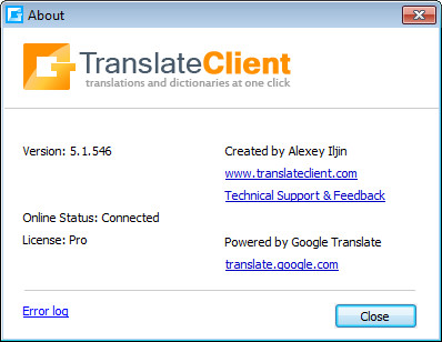google translate client 5.1.546