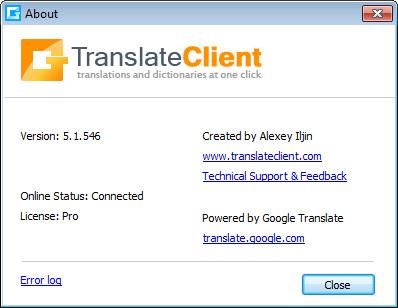 google translate client 5.1.546