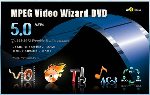 Womble MPEG Video Wizard DVD