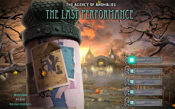 The Agency of Anomalies 3: The Last Performance