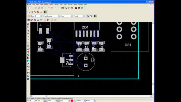 Видеокурс P-CAD 2006