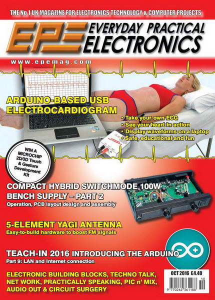 Everyday Practical Electronics №10 (October 2016)