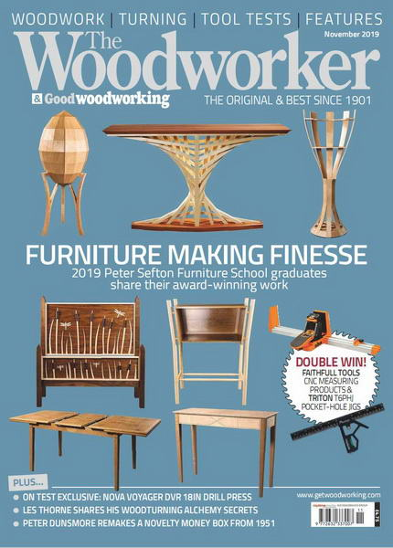 The Woodworker & Good Woodworking №11 (November 2019)
