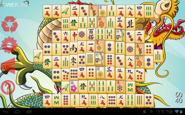 Маджонг (Mahjong) на андроид - top-android.org