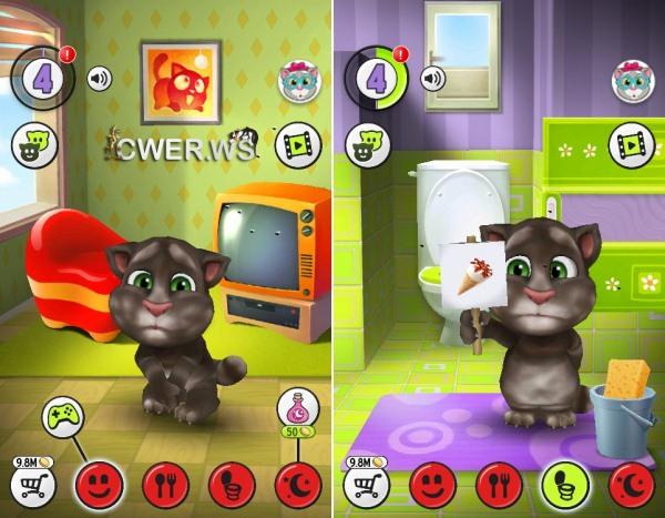 говорящий кот на андроид. скачать говорящий том