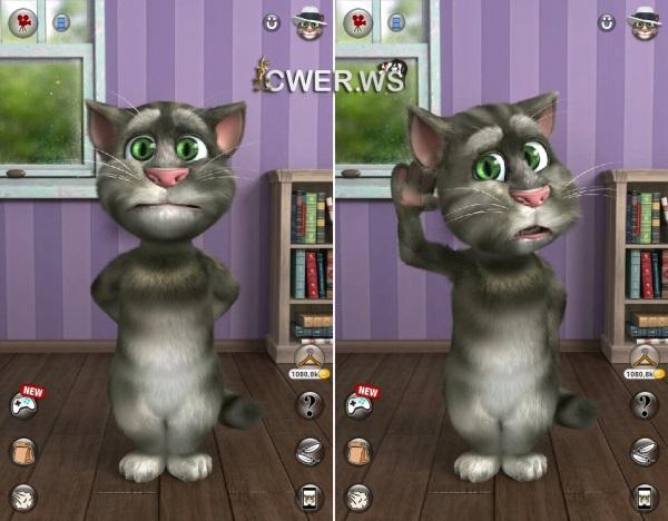 Говорящий кот Том (Android) - YouTube