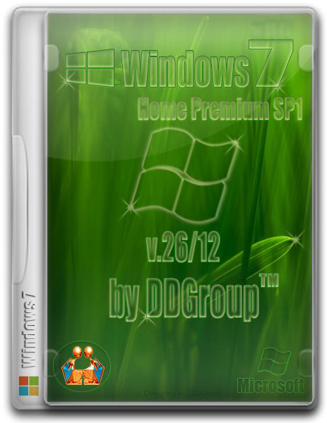 Windows 7 Home Premium SP1 by DDGroup v.26.12