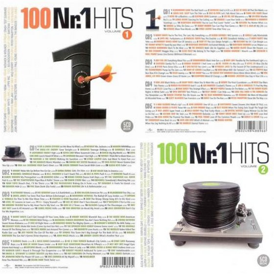 100 Nr.1 Hits: Vol 1-2, 10CD (2007)