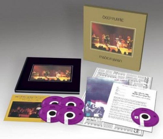 Deep Purple. Made in Japan 1972: Promo Single Box Set Universal Musiс, 4CD (2014)