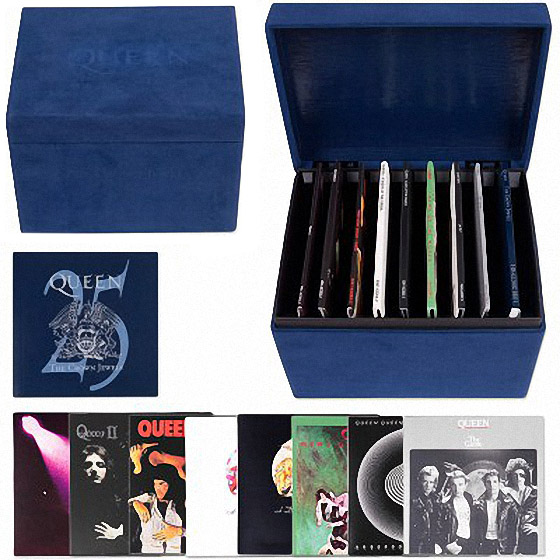 скачать Queen. The Crown Jewels. 25th Anniversary. 8CD Limited Box Set (1998)