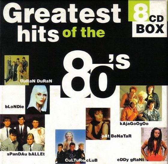 More Greatest Hits Of The 80's: 8CD Box (1998-2000