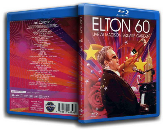 Elton John. Elton 60: Live At Madison Square Garden