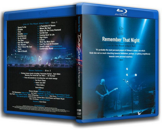 David Gilmour.Remember That Night