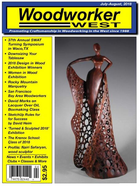 Woodworker West №4 (July-August 2018)
