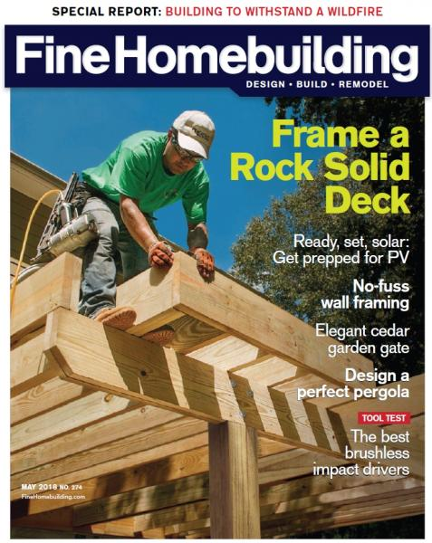 Fine Homebuilding №274 (April-May 2018)