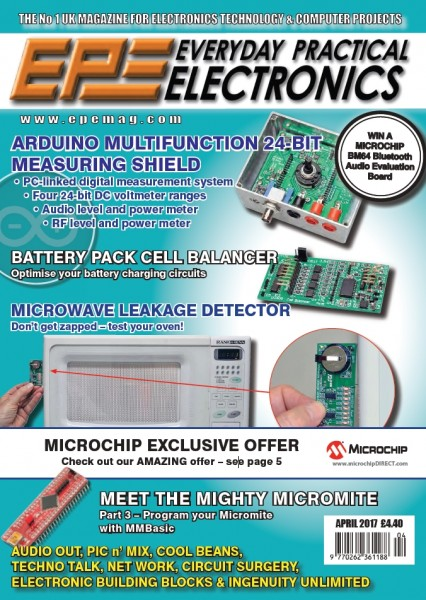 Everyday Practical Electronics №4 (April 2017)
