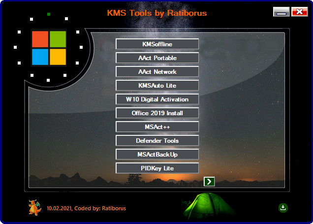 Ratiborus KMS Tools 10.02.2021