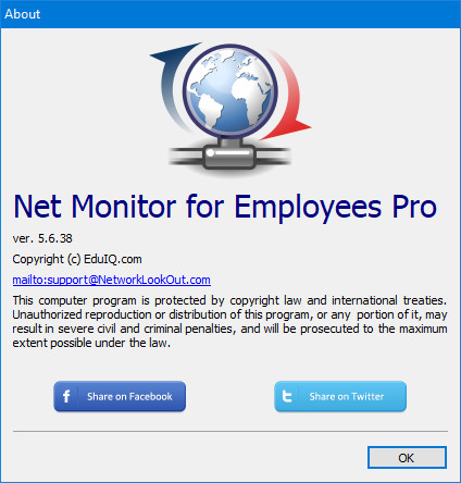 EduIQ Net Monitor for Employees Professional 5.6.38