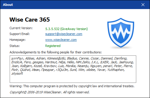 Wise Care 365 Pro 5.3.5 Build 532