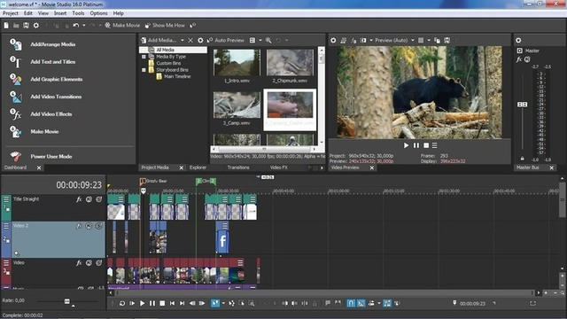 MAGIX VEGAS Movie Studio 16.0.0.108 / 16.0.0.109 Platinum