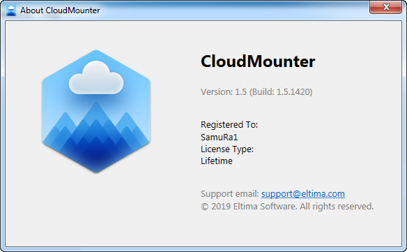 Eltima CloudMounter 1.5.1420