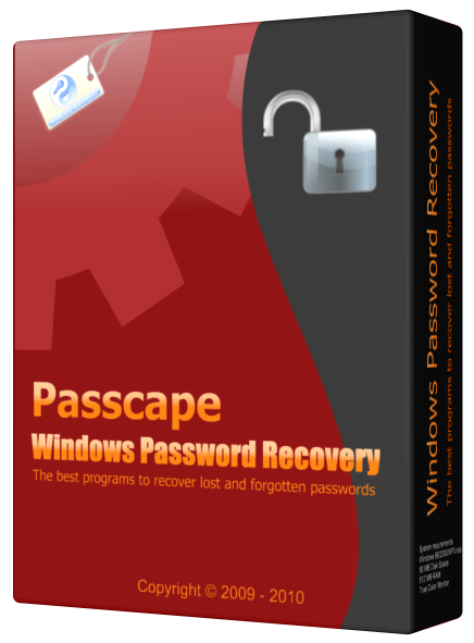 Passcape Windows Password Recovery Advanced 11.6.1.1095