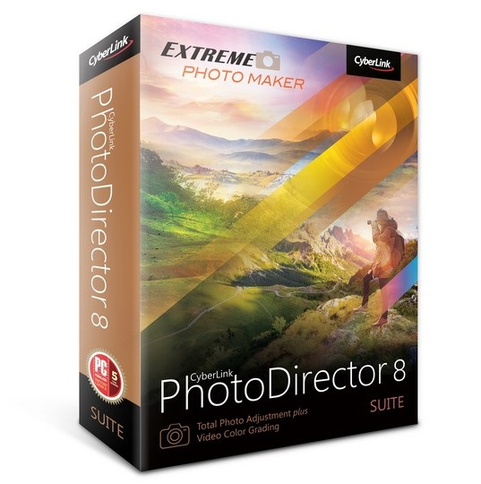 CyberLink PhotoDirector Suite 8