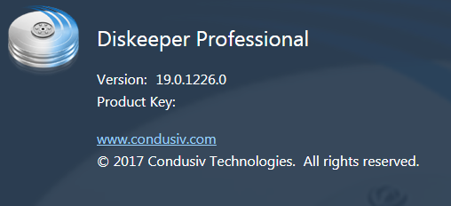 Diskeeper 16 Home / Professional / Server 19.0.1226.0