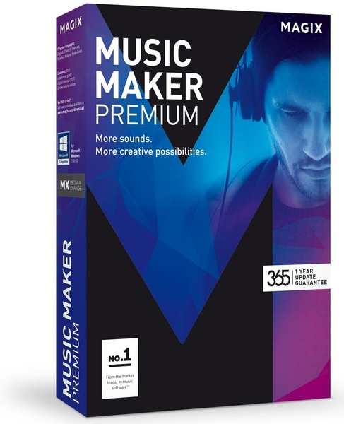 MAGIX Music Maker 2017 Premium